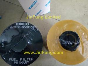 Kobelco,YN21P01068R100,FUEL FILTER PRIMARY,genuine