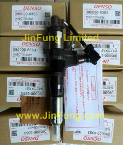 Kobelcoe,Denso,095000-6353,injector Assy